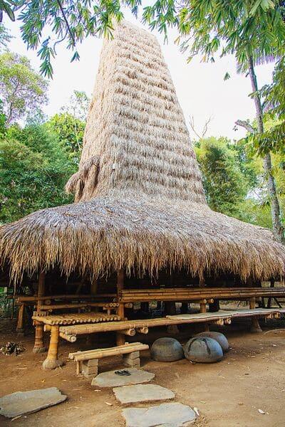 Sumba House exterior at Bambu Indah
