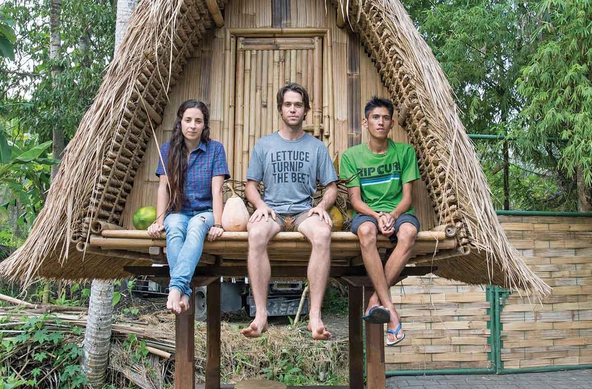 The Kul Kul Farm trio