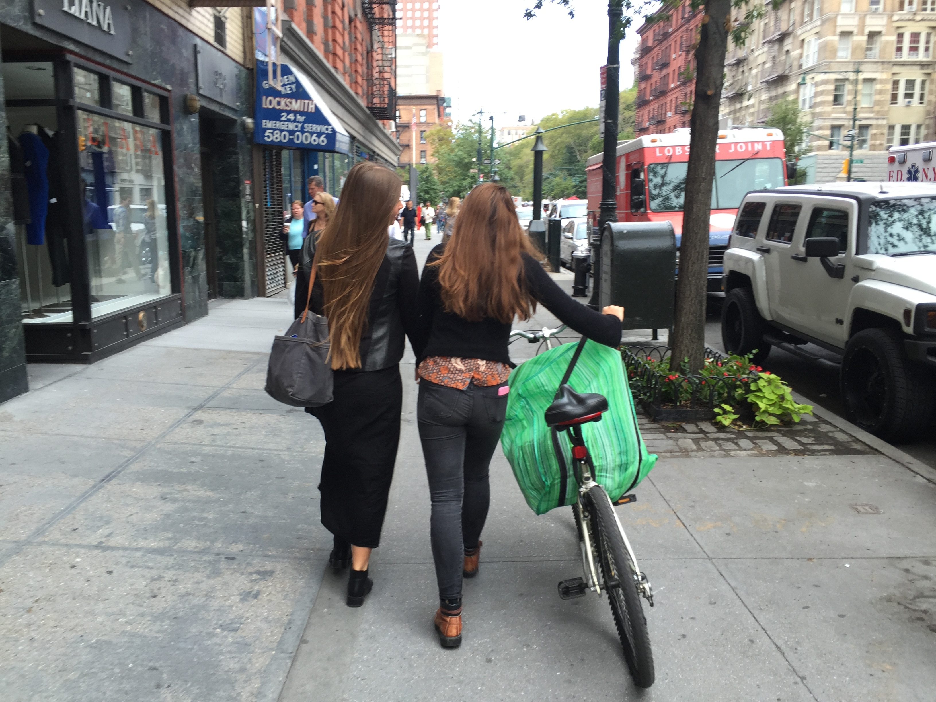 Off to the compost pick up spot in New York