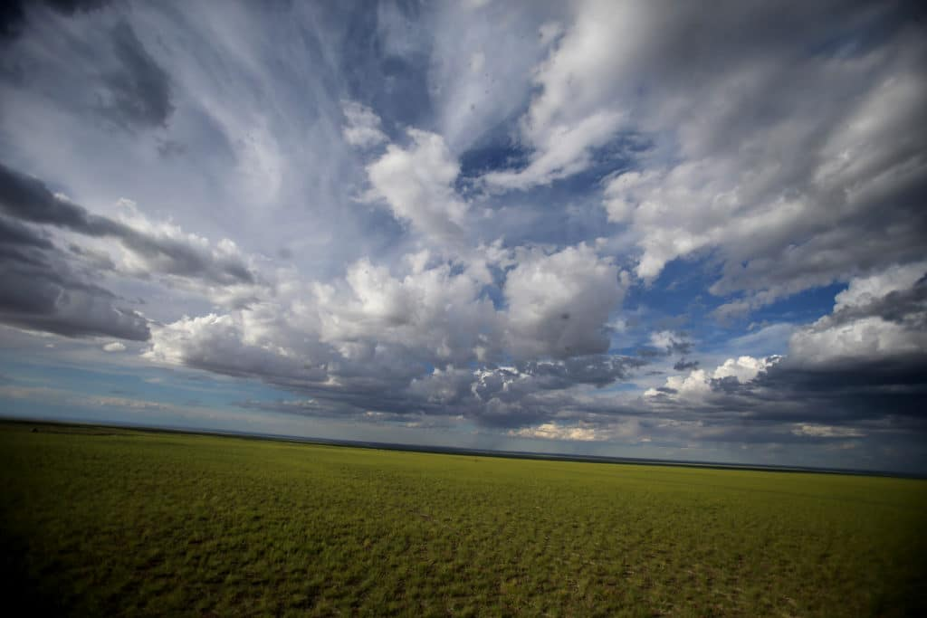 Mongolia's big sky