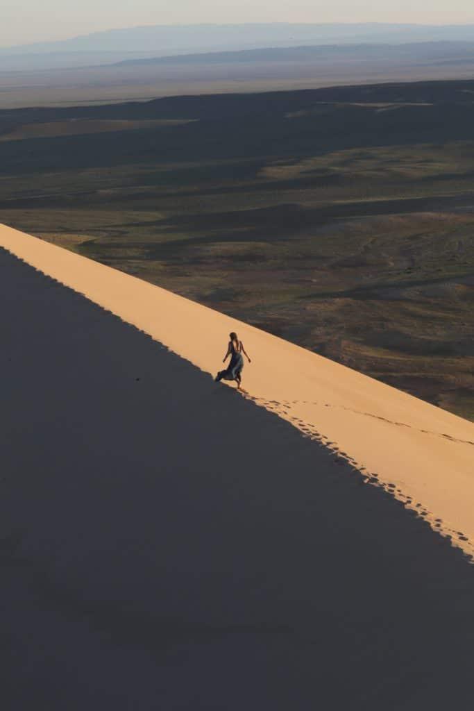 Mongolian sand dune