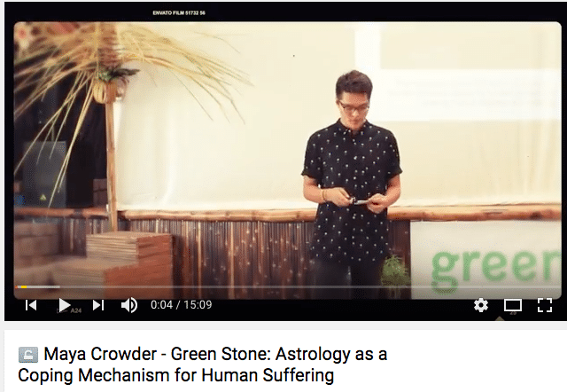Green Stone talks