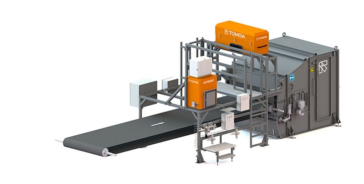 TOMRA Recycling machine