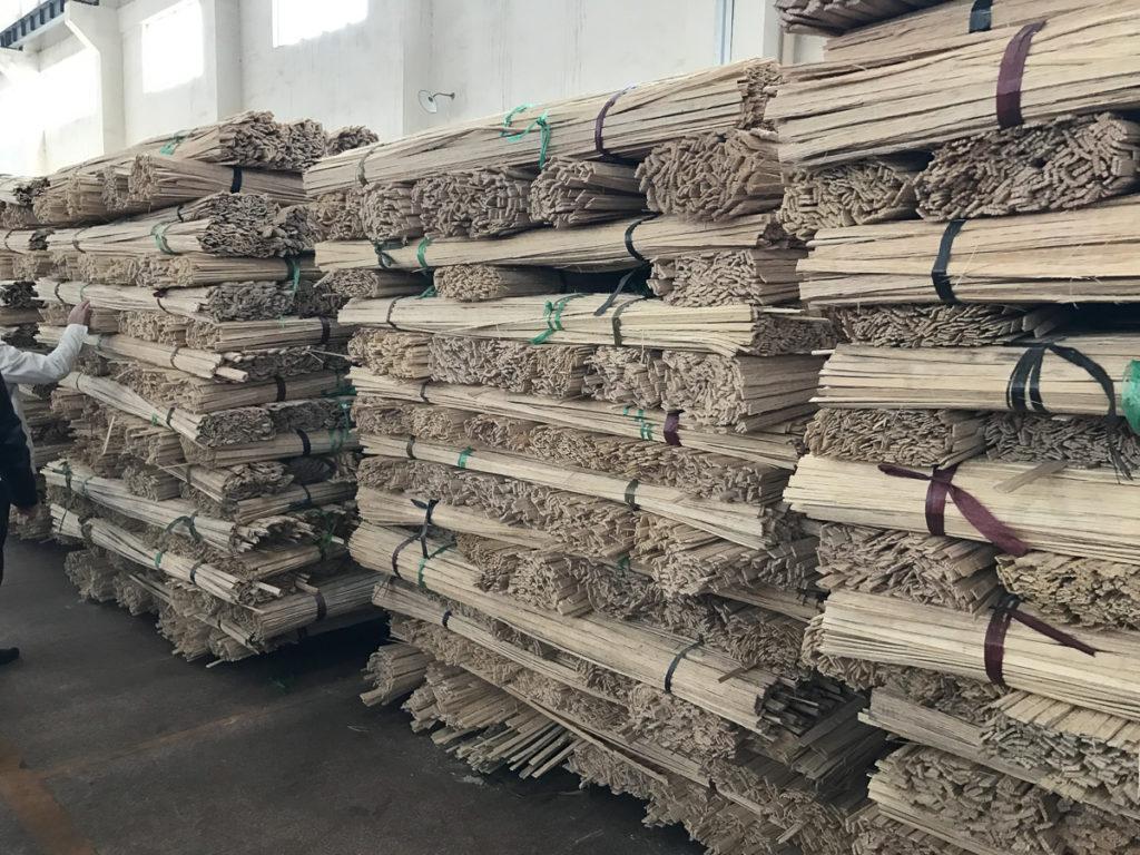 Bamboo lumber making
