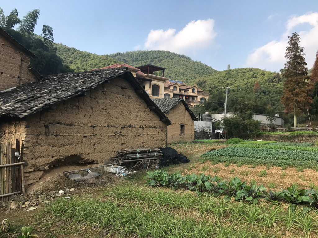 Traditional Chinese farmhouse