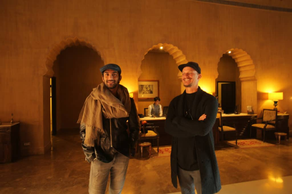Manvendra Singh Shekhawat and James
