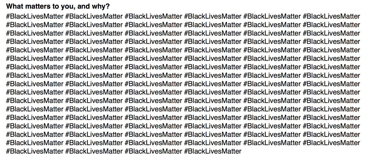 Black lives matter by Zaid Ahmed