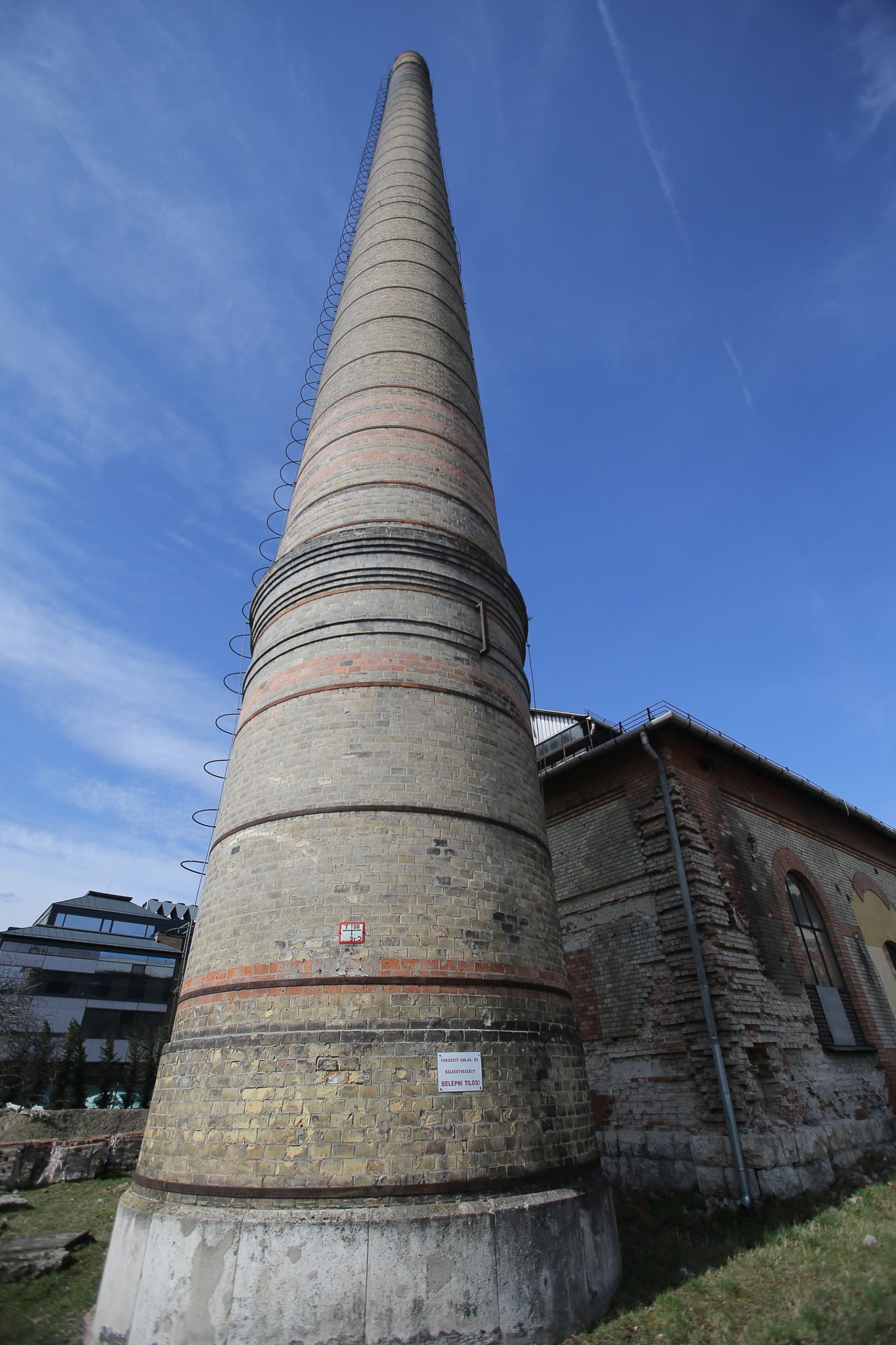 Old coal factory in Budapest