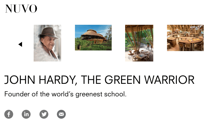 John Hardy the Green Warriort