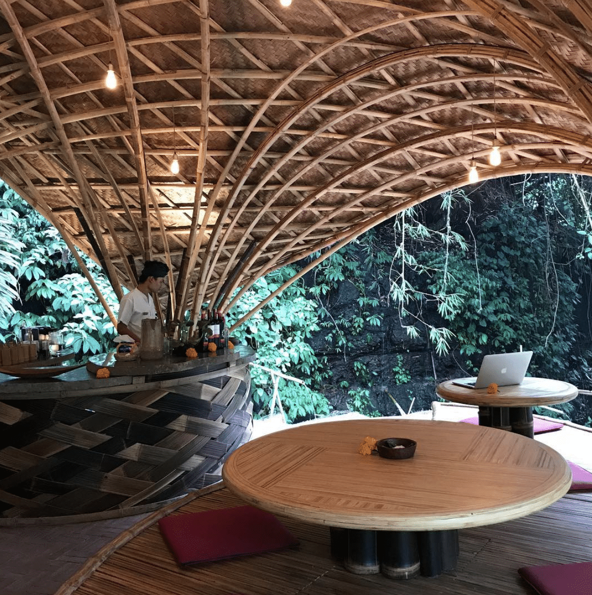 Riverside Warung at Bambu Indah
